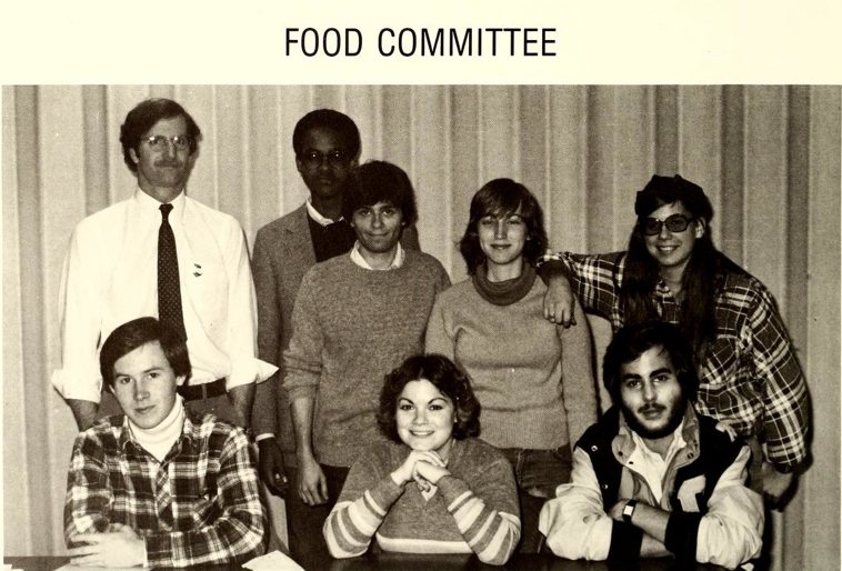 Food Committee circa 1981