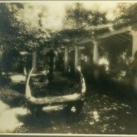 Franklin P. Smith estate, Deerpath, Lake Forest, Illinois--terrace between house and east porch.jpg