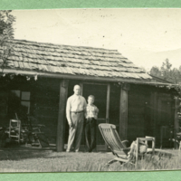 Early residents of the Cabin (Clay Sr. and Jr.)