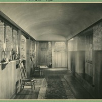 Original Front Hall of Ragdale