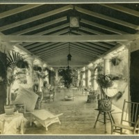 Franklin P. Smith estate, Deerpath, Lake Forest, Illinois--'East Porch 1905'.jpg