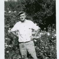 Fred the Gardener (the gardener before Ted came back to Ragdale ca. 1960s