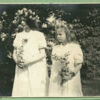 Two female children (Sylvia and Evelyn)