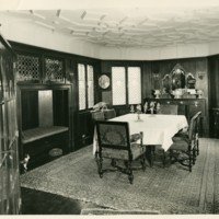 Franklin P. Smith estate, Deeerpath, Lake Forest, Illinois--house 'Dining room '52'.jpg