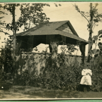 Well House (Well with hand pump inside near garden) With Sylvia