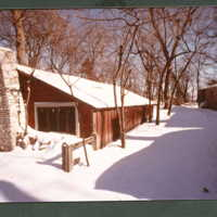 John T McCutcheon's studio (previously the cow shed)