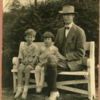 Jack and Shaw McCutcheon (son and daughter of Evelyn Shaw and John McCutcheon)