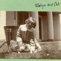 Evelyn and the cat